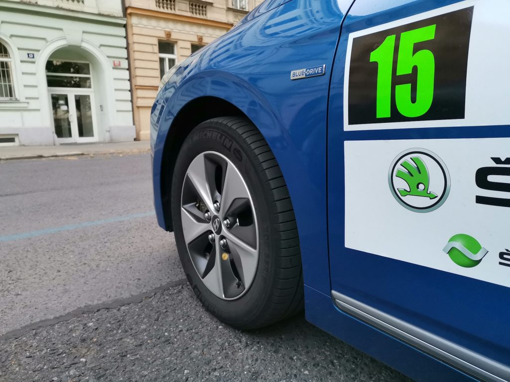 Hyundai Ioniq Electric - ECO energy Rally Bohemia - Michelin Energy Saver