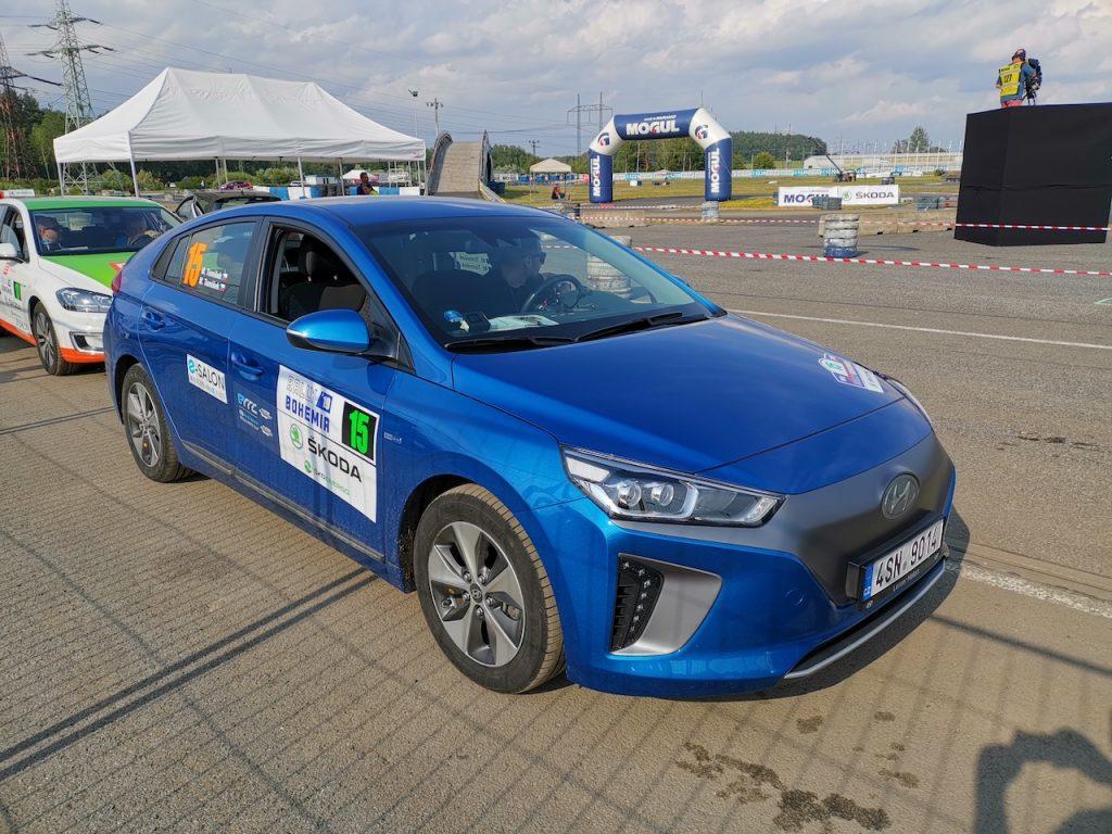 Hyundai Ioniq Electric #EcoRallyTeamCZ - Autodrom Sosnová