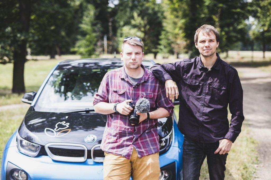 Zelenáči na cestě - Tomáš a Jíja