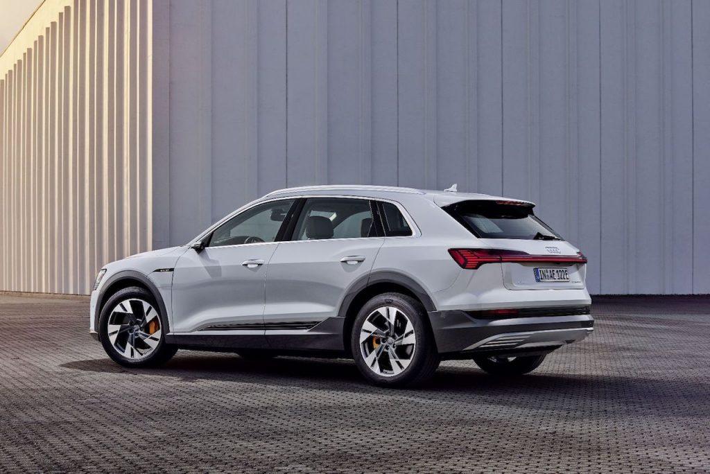 Audi e-tron 50 quattro - zezadu