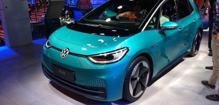 Volkswagen ID.3 se představil na IAA Frankfurt 2019