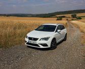 TEST: SEAT Leon ST 1,5 TGI Evo (CNG) FR – skutečná spotřeba