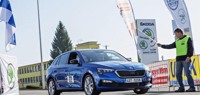 Škoda Economy Run 2019 - Škoda Scala na startu