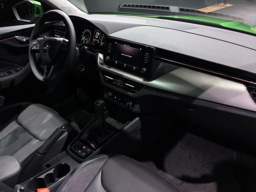 Škoda Kamiq G-TEC - CNG - interiér