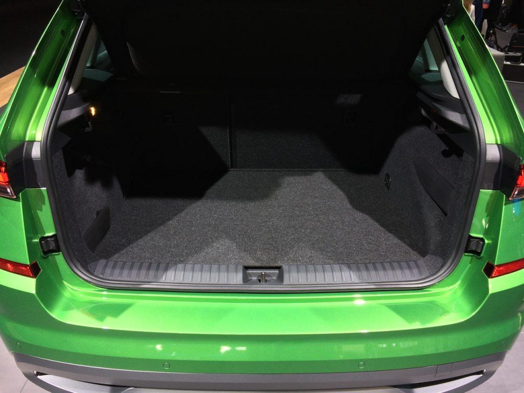 Škoda Kamiq G-TEC - CNG - zavazadlový prostor