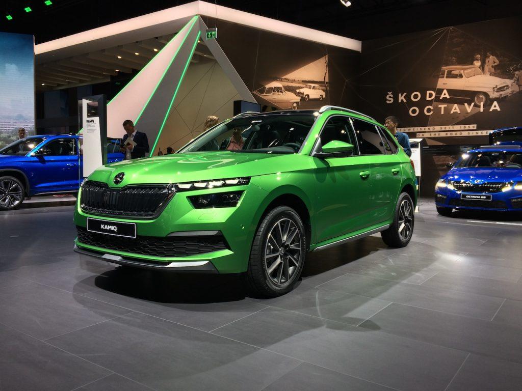 Škoda Kamiq G-TEC - CNG - zepředu