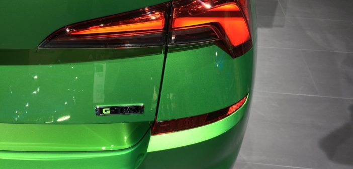Škoda Kamiq G-TEC - CNG - plaketka
