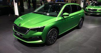 Škoda Scala G-TEC - CNG - zepředu
