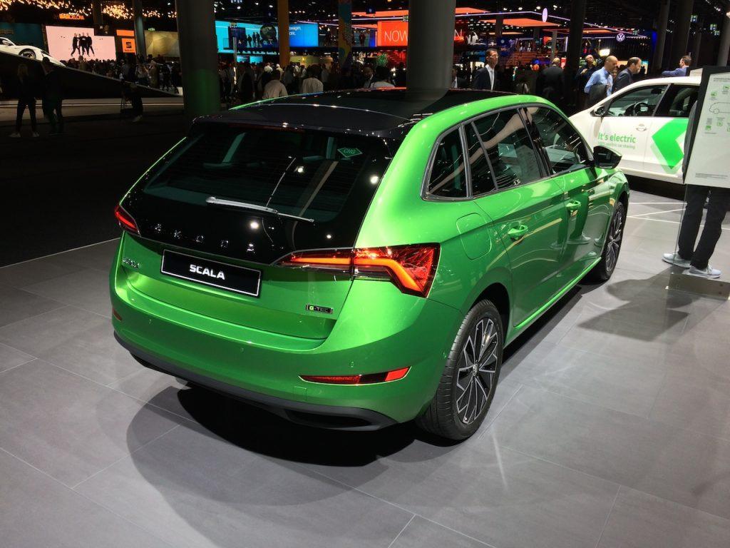 Škoda Scala G-TEC - CNG - zezadu