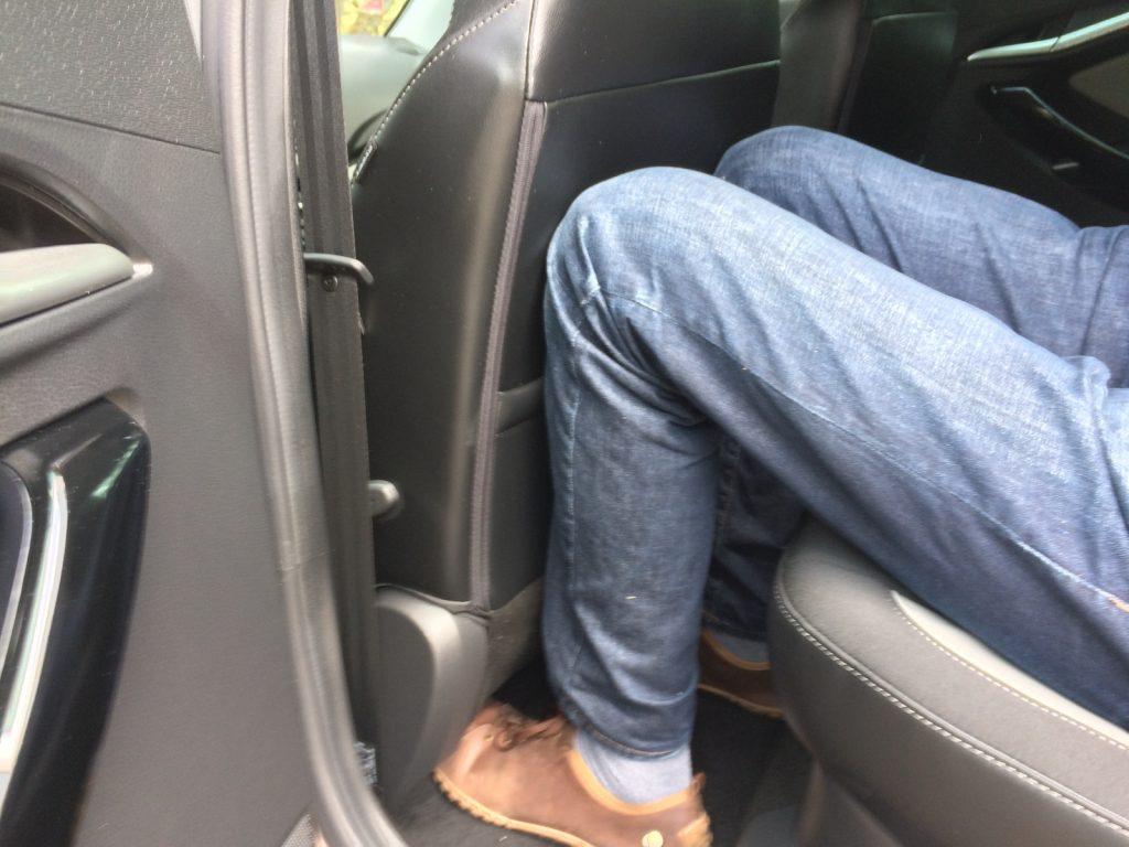 Lada Vesta SW Cross - prostor - zadní sedačka