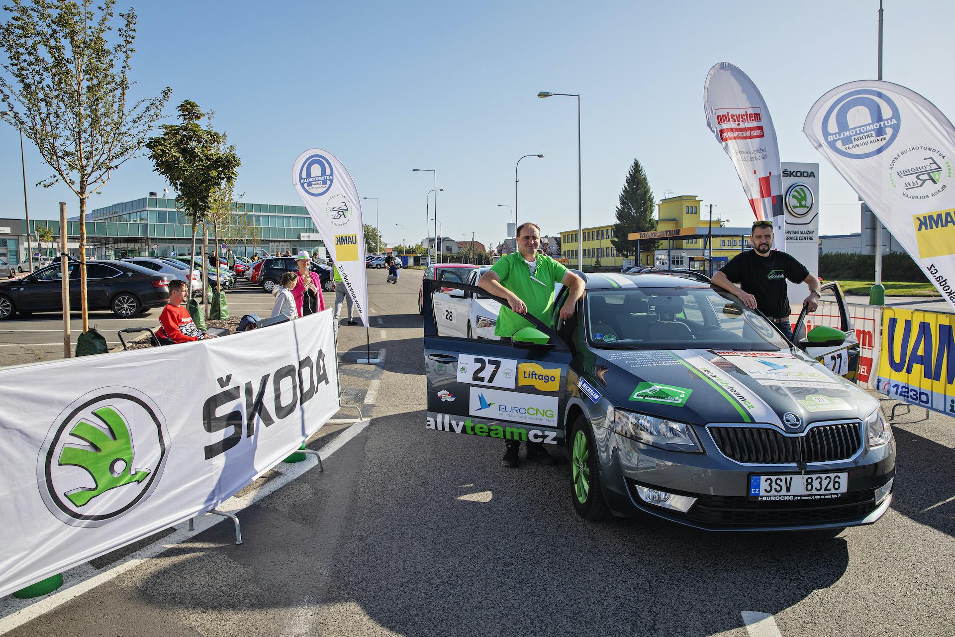 #EcoRallyTeamCZ na startu 38. Škoda Economy Run