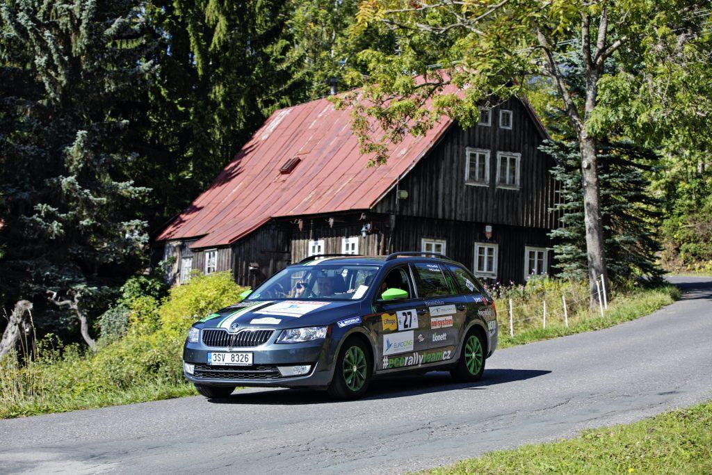 #EcoRallyTeamCZ na trase Škoda Economy Run 2019