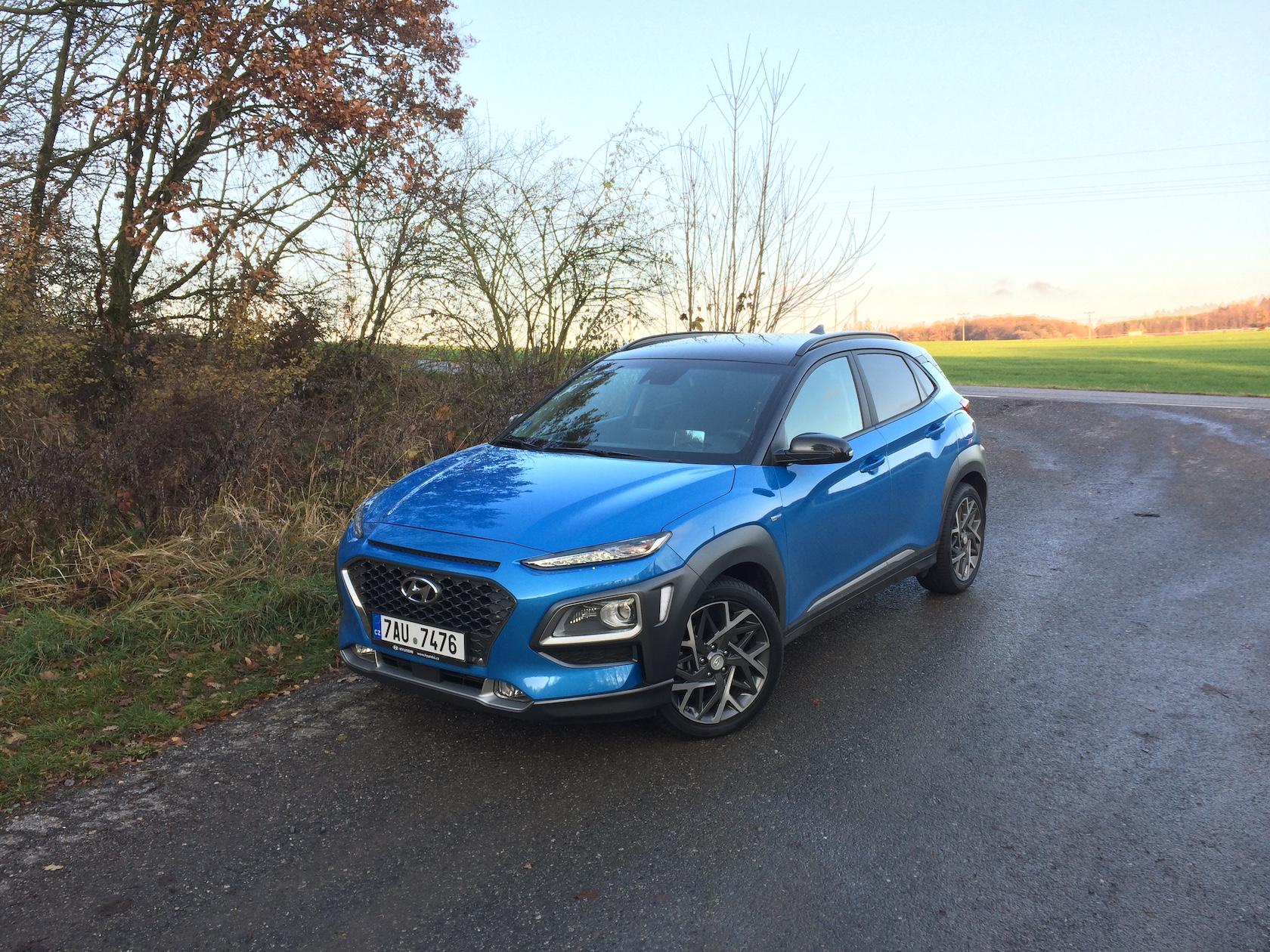 Hyundai Kona Hybrid - zepředu