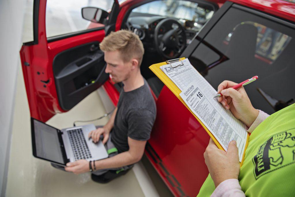 Měření spotřeby na Škoda Economy Run