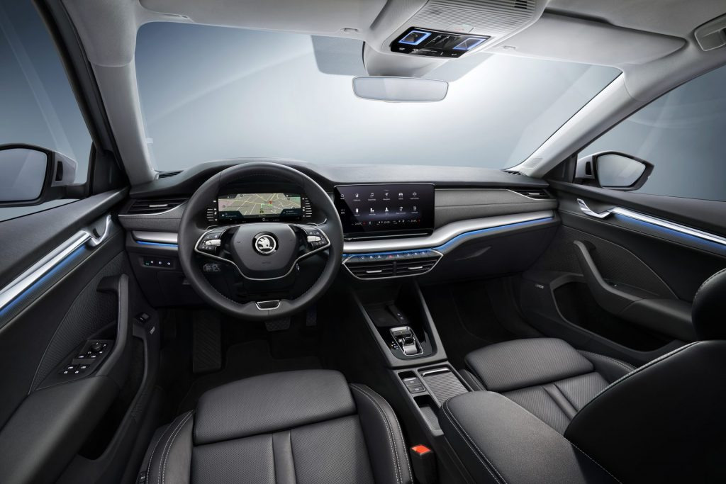 Nová Škoda Octavia - interiér