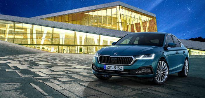 Nová Škoda Octavia liftback - zepředu