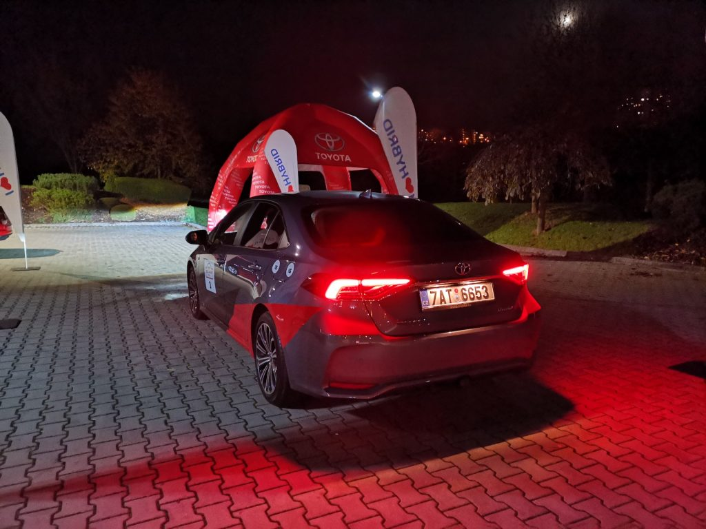 24h Toyota Eco Race - Toyota Corola Hybrid - #EcoRallyTeamCZ