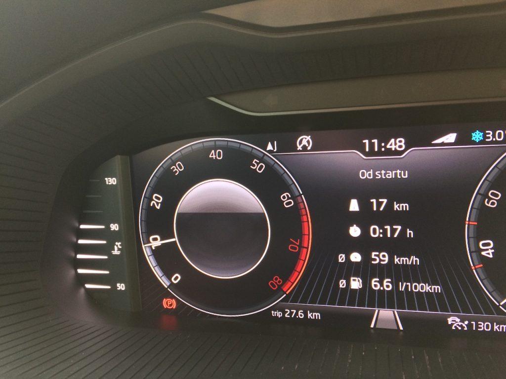 Škoda Kamiq - spotřeba