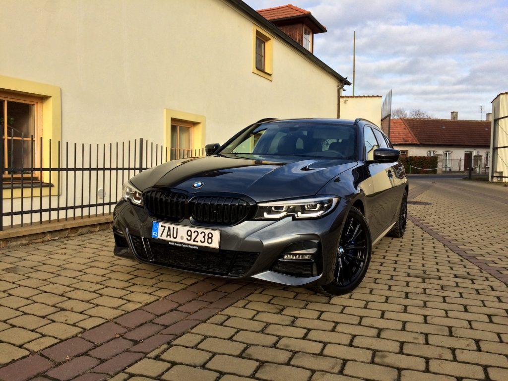 BMW 3 Touring - zepředu