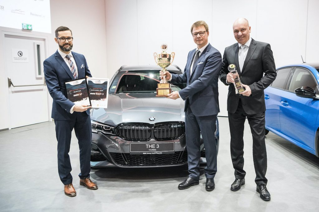 Předávání ocenění pro Auto Roku 2020 v České republice - BMW řady 3