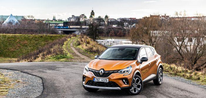 Nový Renault Captur - zepředu