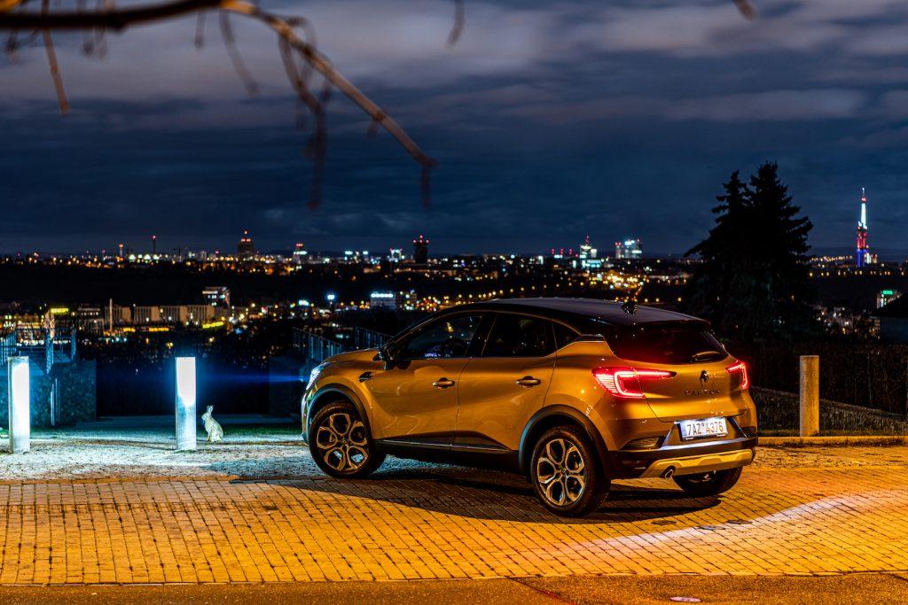 Nový Renault Captur - zezadu