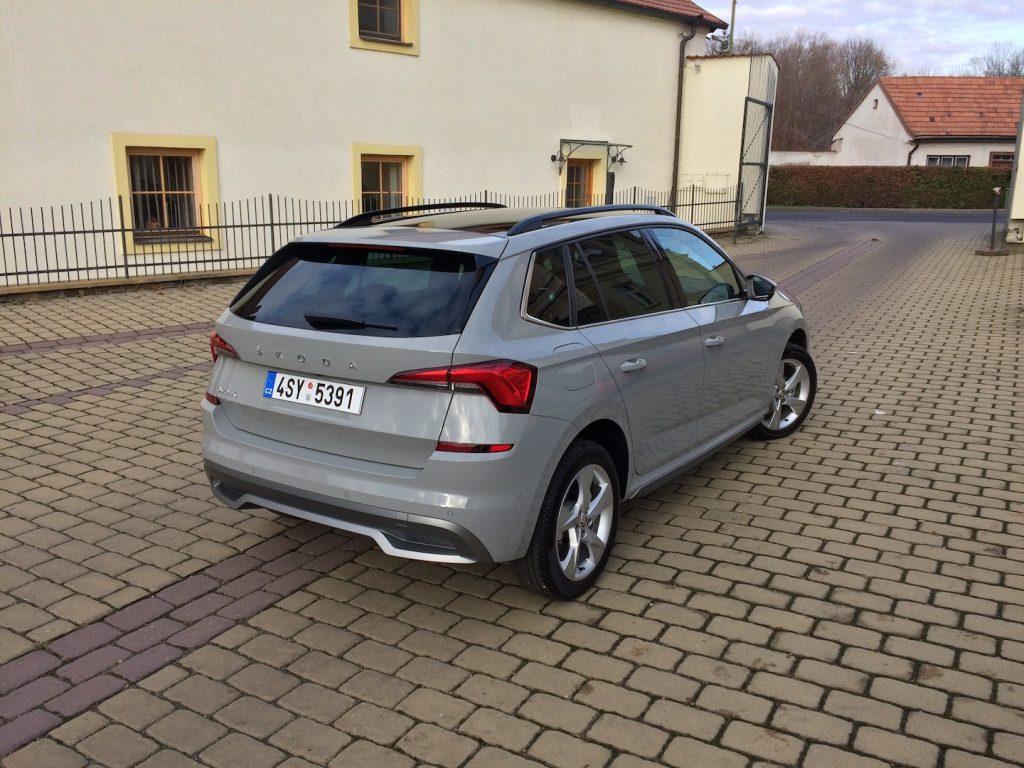 Škoda Kamiq - zezadu