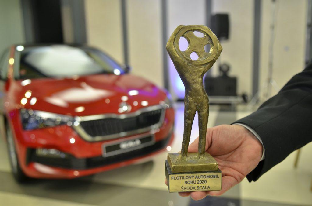 Trofej Flotilové auto roku 2020 pro vůz Škoda Scala