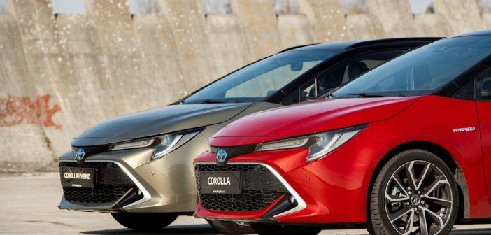 Flotilové elektroauto roku 2020 Toyota Corolla Hybrid