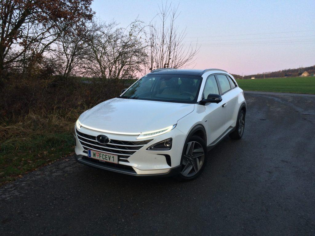 Vodíkové auto Hyundai Nexo