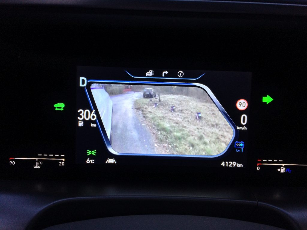 Hyundai Nexo - virtuální zrcátka