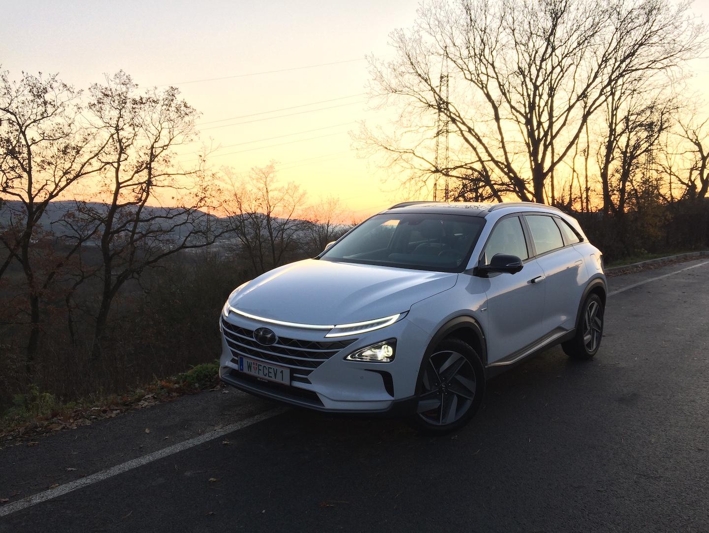 Hyundai Nexo - vodíkové auto