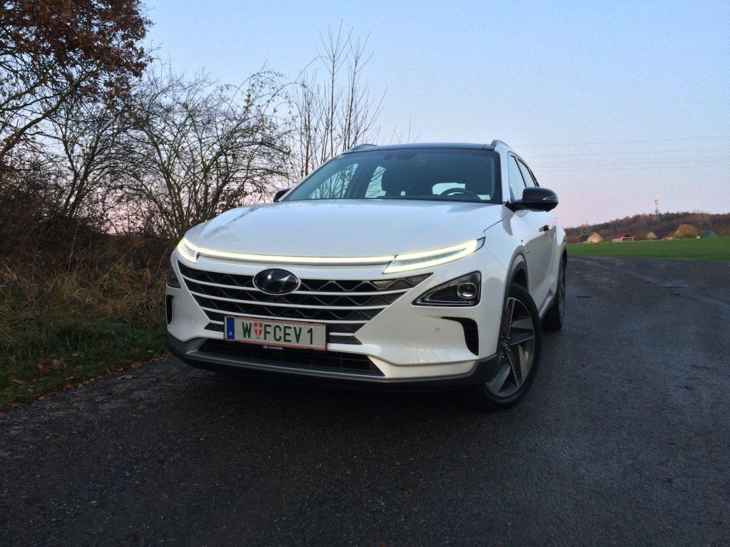 Hyundai Nexo - zepředu