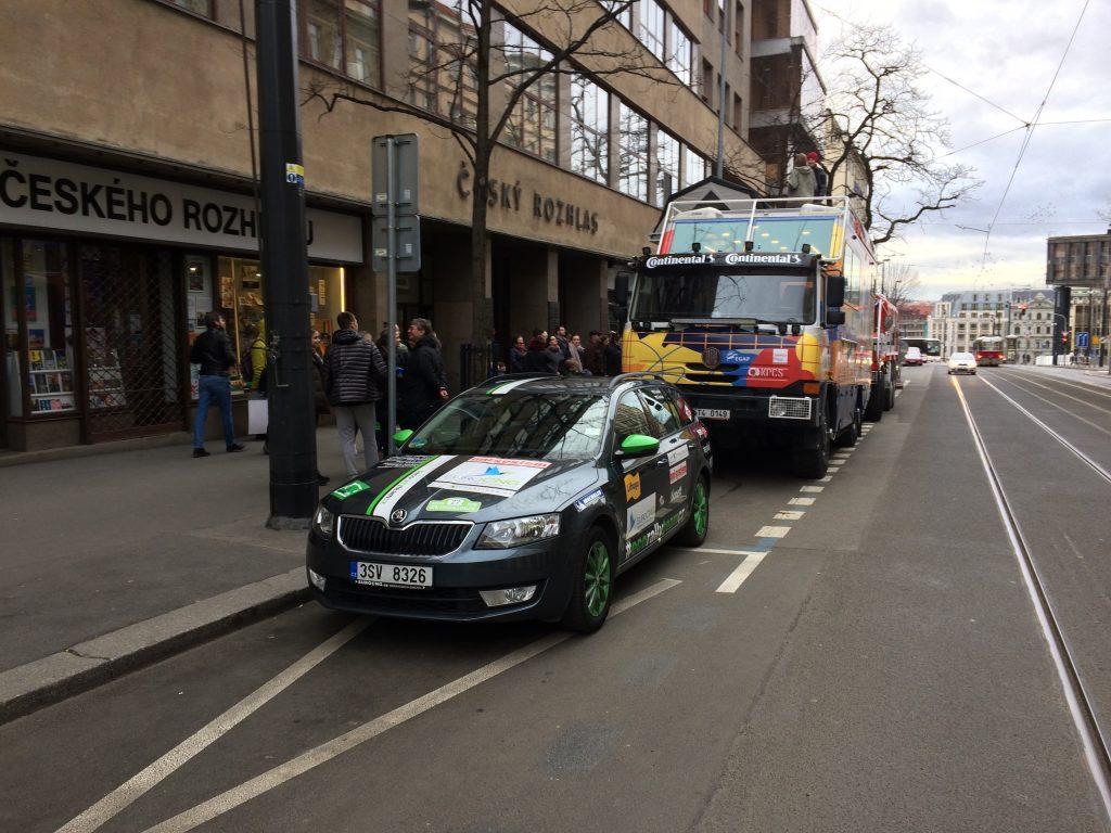 Tatra kolem světa 2 a Škoda Octavia #EcoRallyTeamCZ