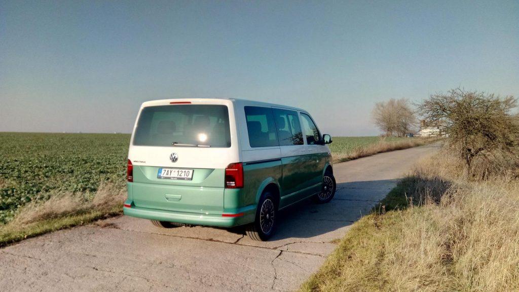 Volkswagen T6.1 Multivan - zezadu
