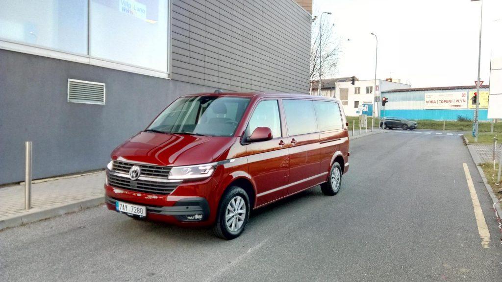 Volkswagen T6.1 Transporter - zepředu