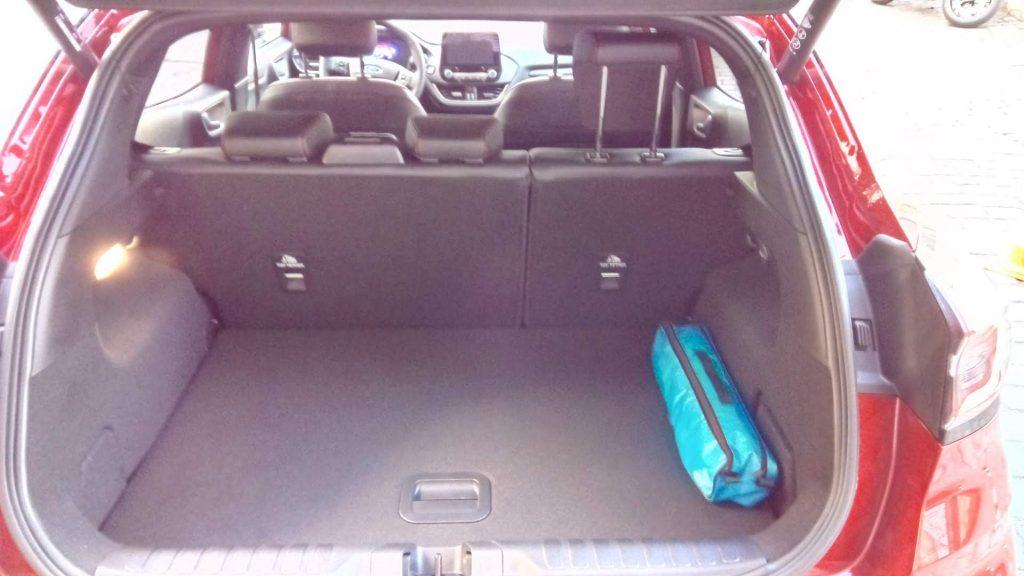 Ford Puma Hybrid - zavazadlový prostor