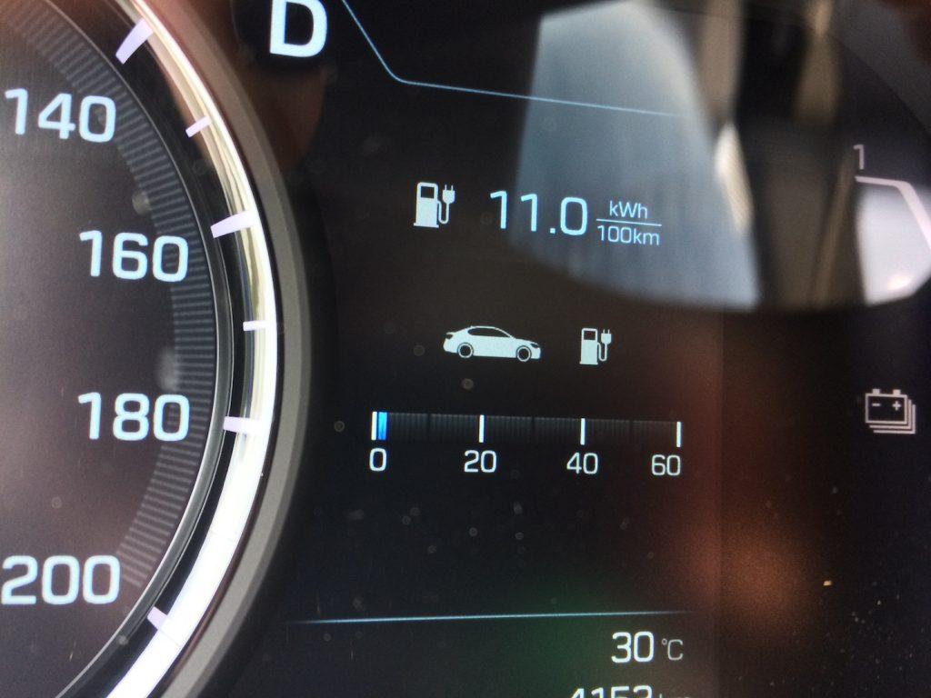 Hyundai Ioniq Electric - skutečná spotřeba