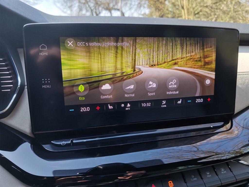 Nová Škoda Octavia - Eco režim