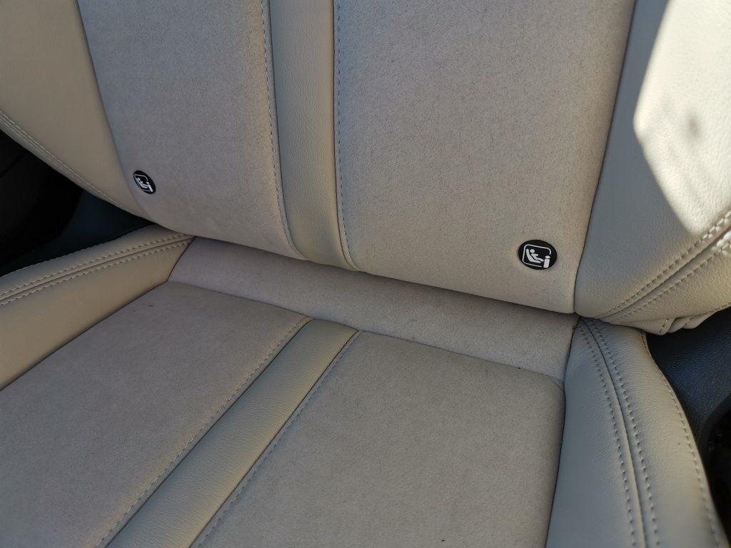 Nová Škoda Octavia - Isofix - přední sedačka