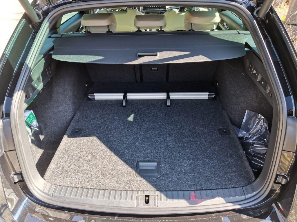 Nová Škoda Octavia - zavazadlový prostor