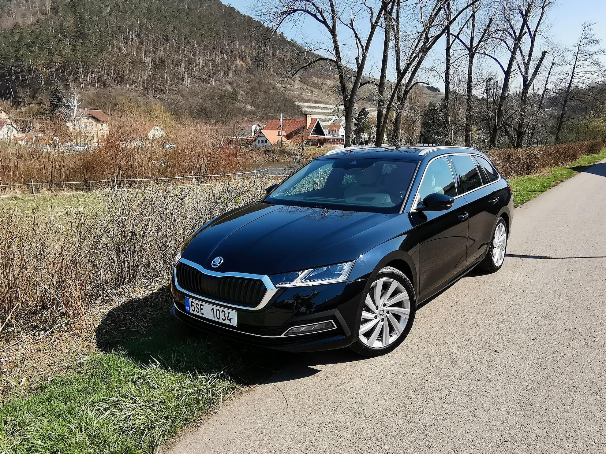 Nová Škoda Octavia - zepředu