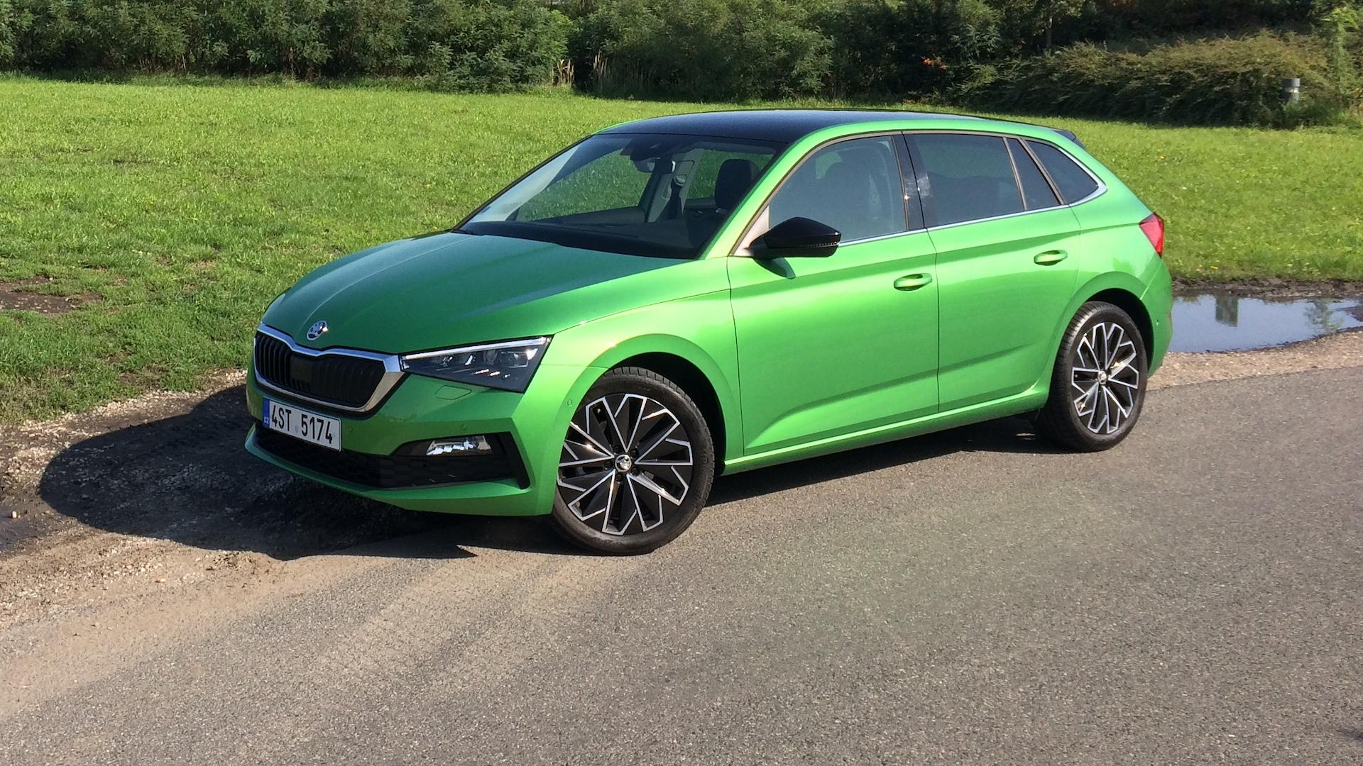 Škoda Scala 1.0 TSI 85 kW skutečná spotřeba - náhled
