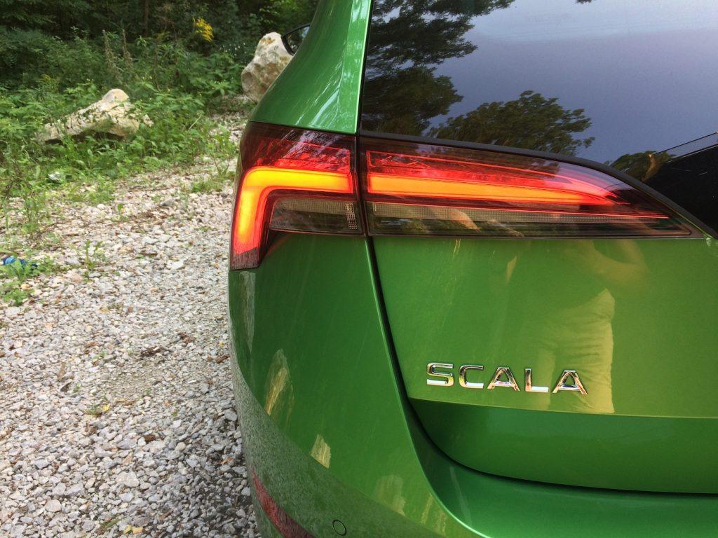 Škoda Scala 1.0 TSI 85 kW - název