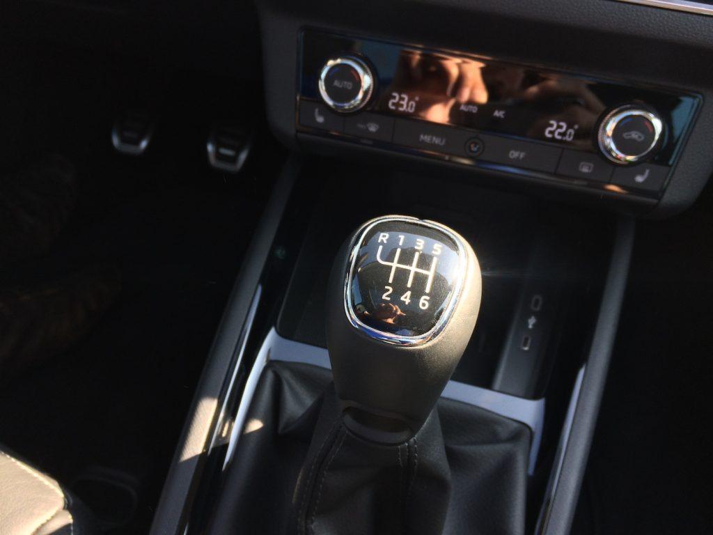 Škoda Scala 1.0 TSI 85 kW - šestistupňová převodovka