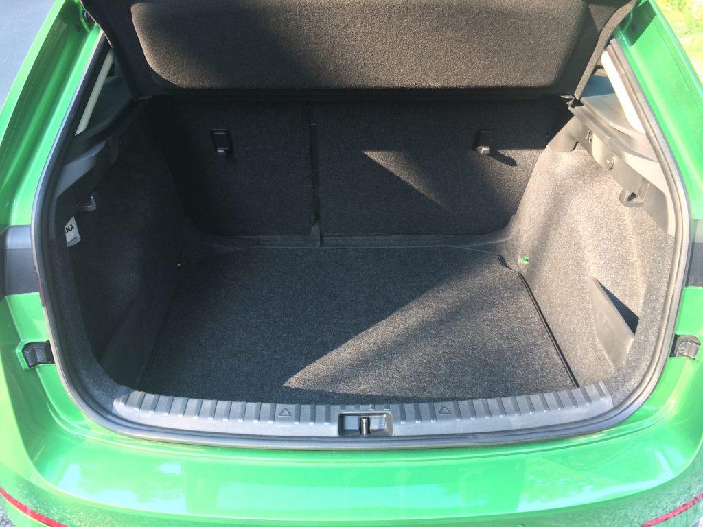 Škoda Scala 1.0 TSI 85 kW - zavazadlový prostor