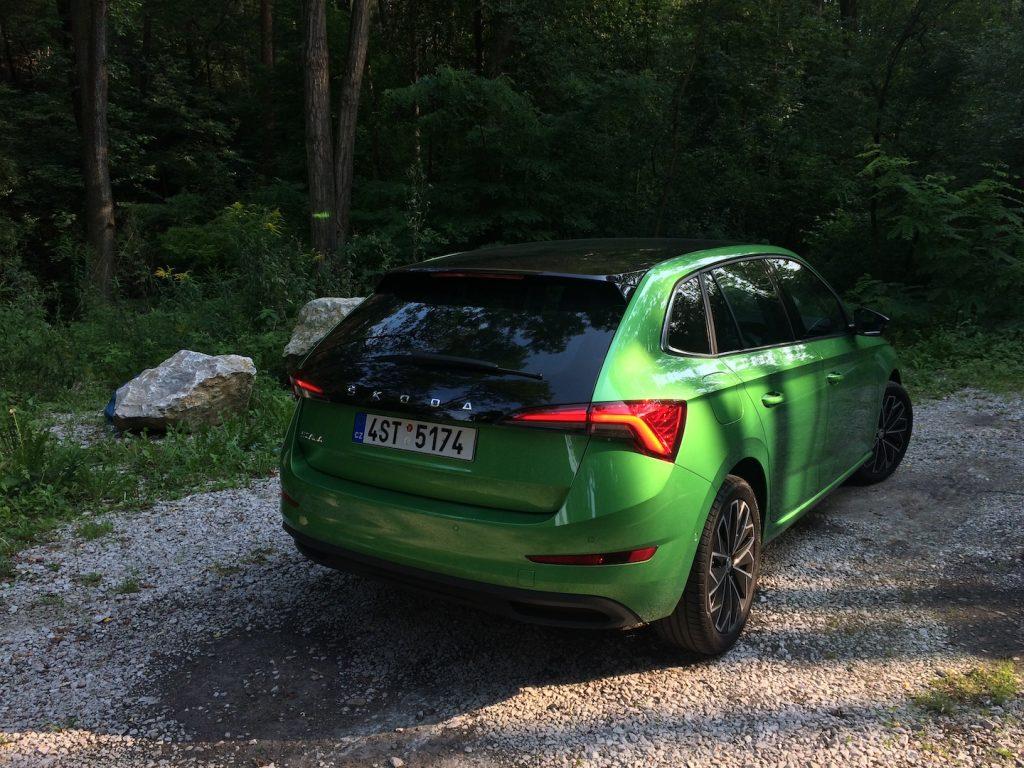Škoda Scala 1.0 TSI 85 kW - zezadu