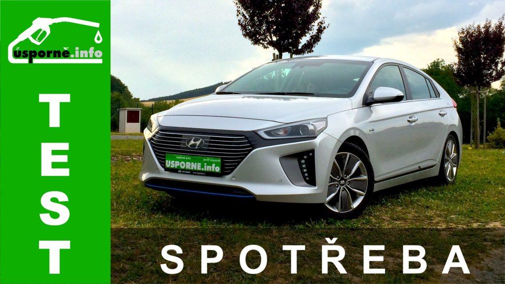 TEST: Hyundai Ioniq Hybrid 104 kW - skutečná spotřeba