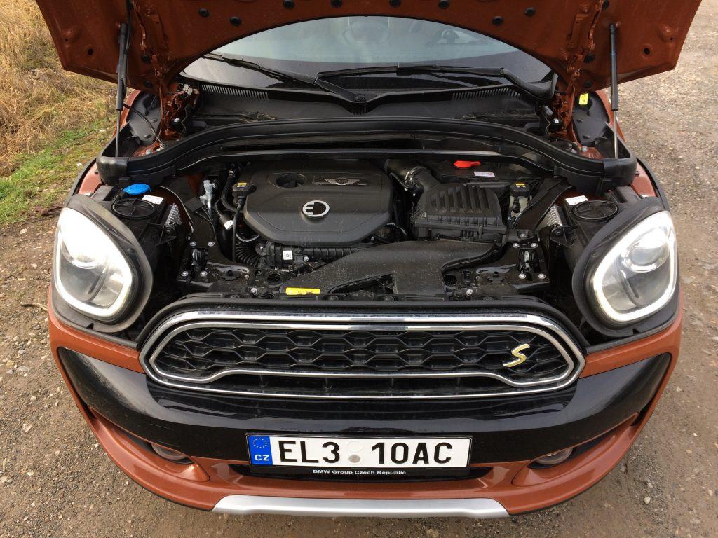 Mini Cooper S E Countryman All4 - motor