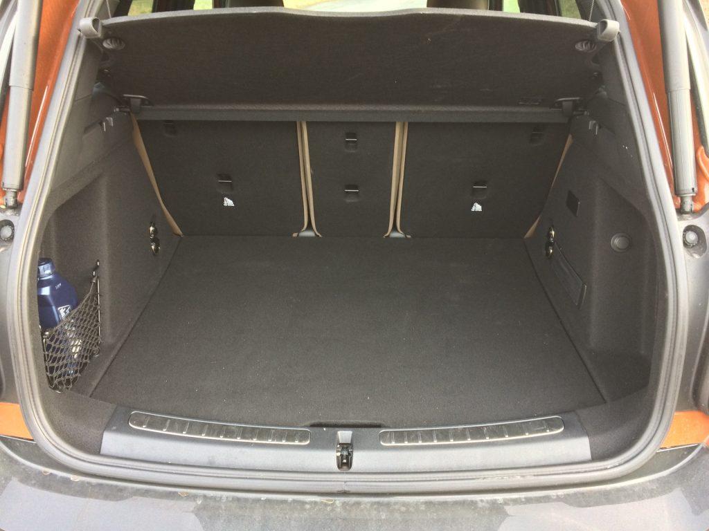 Mini Cooper S E Countryman All4 -zavazadlový prostor